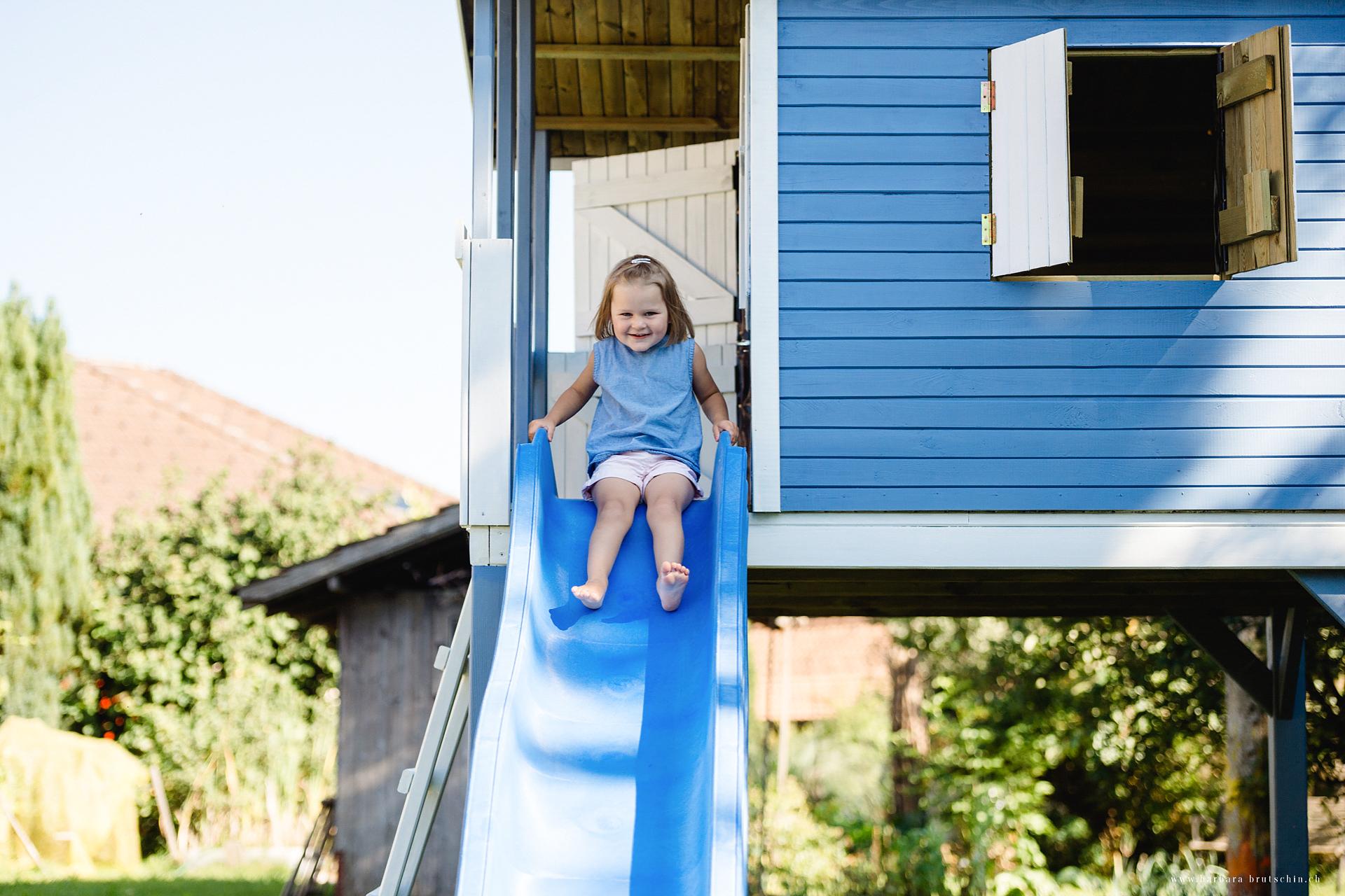 Das blaue Haus Kinderfotografie Bern  Sursee