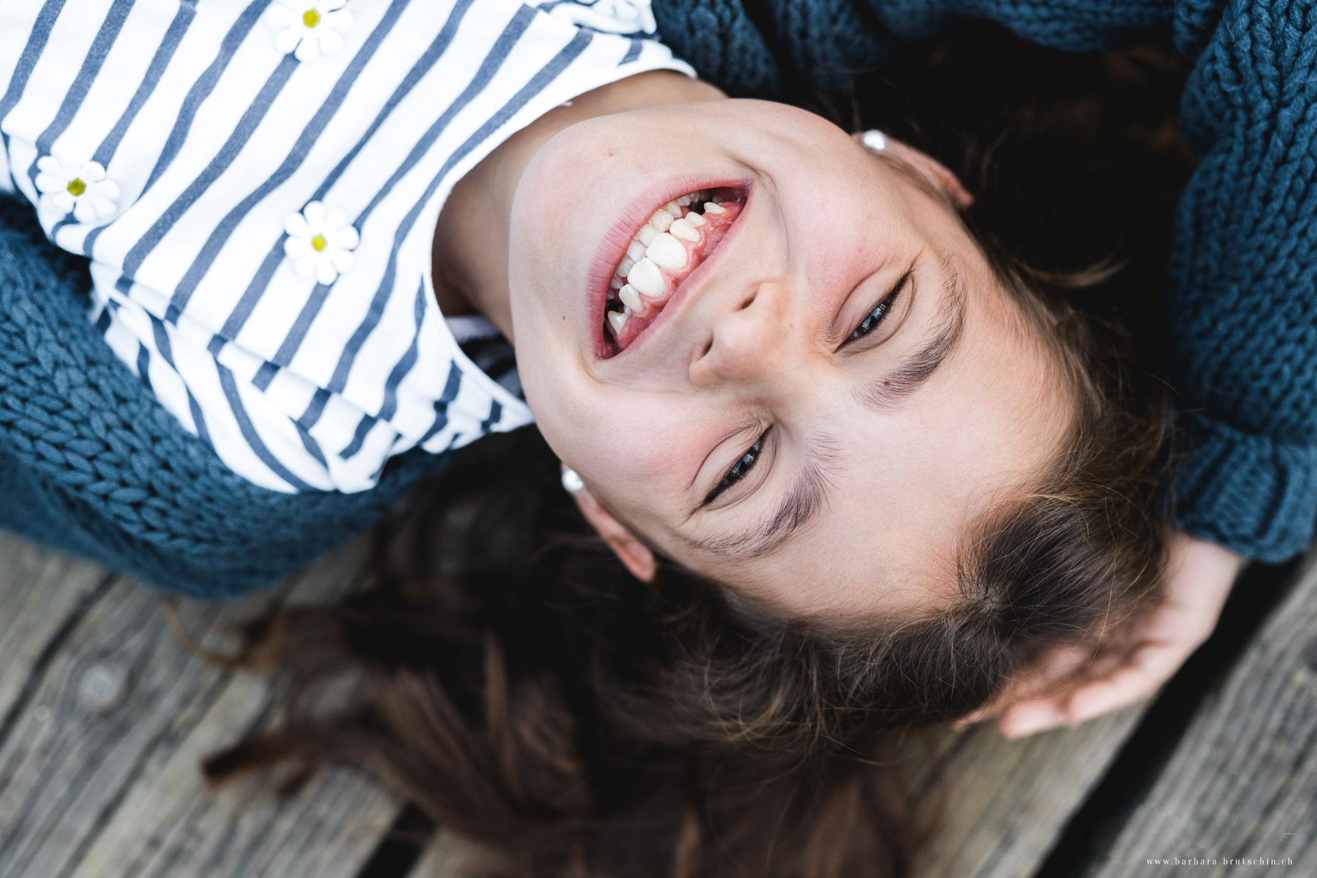 Bitte lächeln Kinderfotografie Sursee