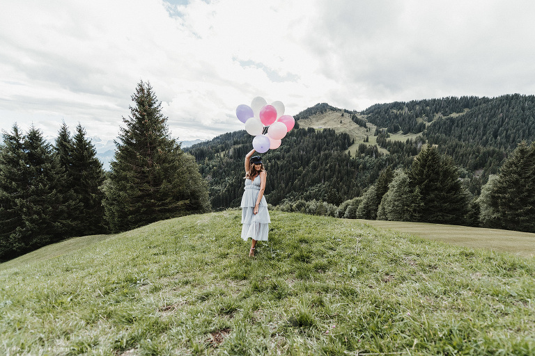 Mia and the mouse | Outdoorshooting